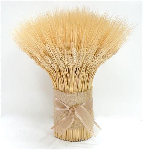 Blonde Wheat Bundle Centerpiece Wreaths For Door Dried Wheat Centerpieces