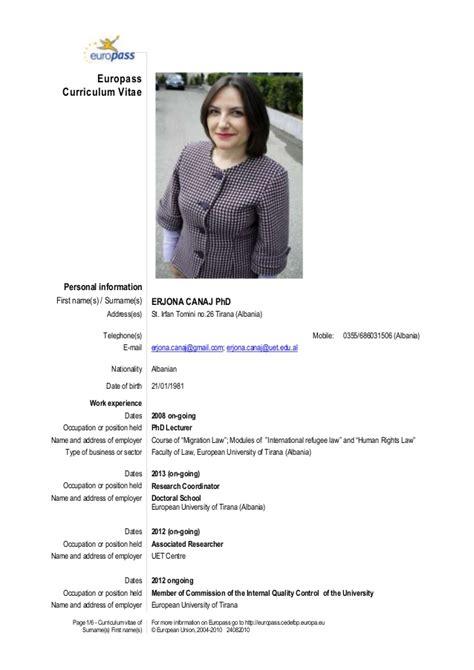 format cv je ne shqip curriculum vitae shqip resume format modele curriculum