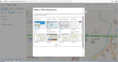 membuat webgis dengan arcgis membuat webgis sederhana dengan arcgis online pemetaan gis