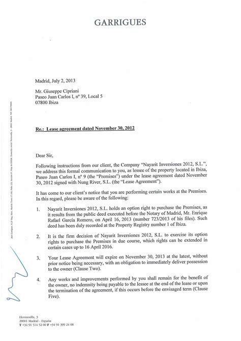 Letter Of Intent Renewal Of Lease Letter Of Intent For Renewal Of Contract In Teaching A