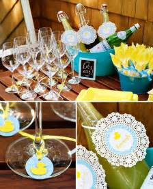themed baby shower decorations crafty charming rubber ducky baby shower hostess with