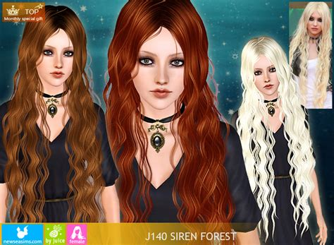 sims 3 hairstyle cheats free siren forest hairstyle by newsea uts3