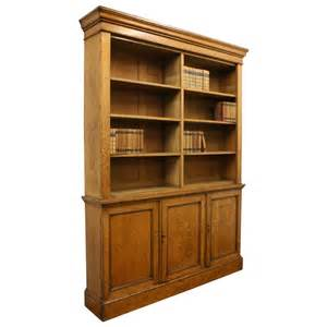 Stylish Bookcase Victorian Oak Open Bookcase 356103 Sellingantiques Co Uk