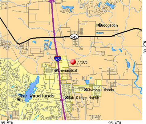 woodland texas map pin the woodlands texas houston area zip code map on
