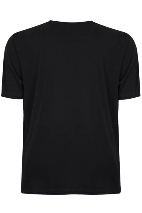 Black Basic Shirt badrhino black basic plain crew neck t shirt large