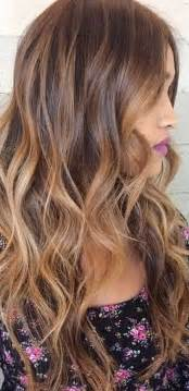 caramel color hair hairstyles for hair balayage