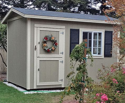 California Sheds Salinas by California Custom Sheds 12x8 Peak Roof Package