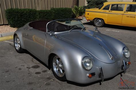 Porsche Other New Silver Paint New Oxblood Leather