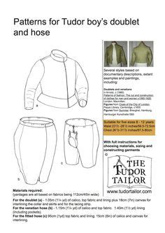 pattern shop meaning tudor fashion worksheets elizabethan male costume