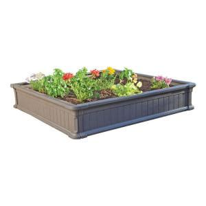 home depot garden bed lifetime 4 ft x 4 ft raised garden bed 3 pack 60069