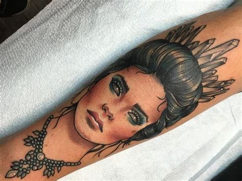 tattoo ice queen depiction tattoo gallery tattoos sam frederick ice queen