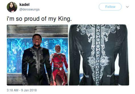 Baju Koko Black Panther Wakanda pakaian black panther dibilang mirip baju koko cek