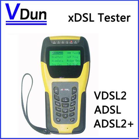 test adls vdsl2 tester st332b adsl wan lan tester xdsl line test