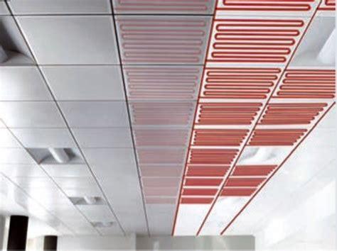 impianti a soffitto climatizzazione radiante a soffitto