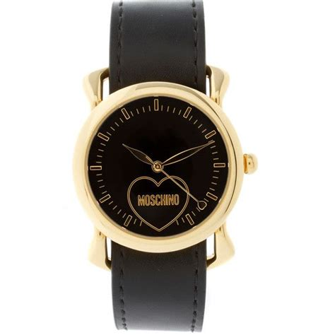 Update Stock Mischino moschino with dual leather and silk straps jewelry jewelry watches