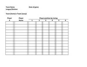 baseball roster template baseball lineup defensive baseball roster template team