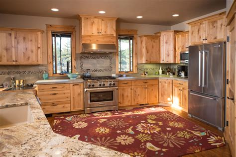 home design story kitchen brasada ranch home design 2 story with open loft rustic