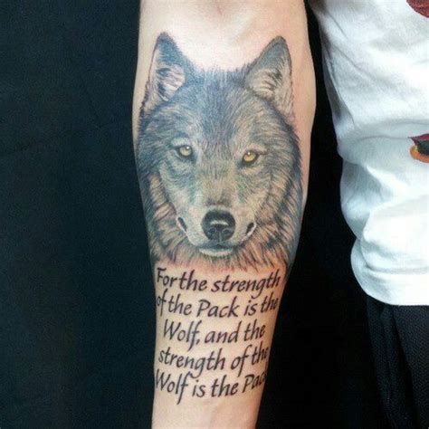 tattoos wolf pack maybe on my upper right arm tattoos