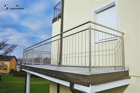 balkon edelstahlgeländer edelstahlgel 228 nder balkon terrasse 220 4060 leonding