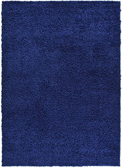 navy blue shag area rug solid color navy blue shag area rug rugs shaggy collection navy blue 3 3 quot x5 home garden