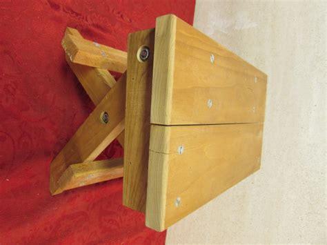 Handmade Step Stool - lot detail handmade wooden step stool
