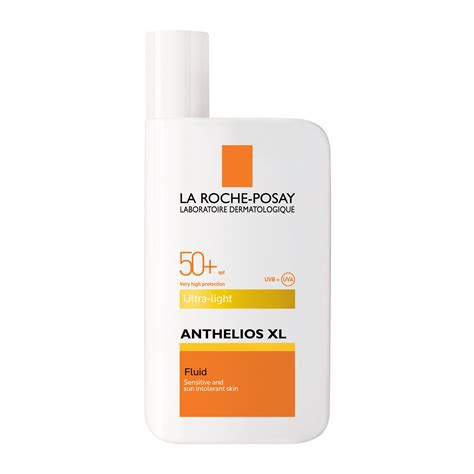anthelios 50 mineral ultra light sunscreen fluid 1 7 fl oz la roche posay anthelios xl face ultra light fluid spf50