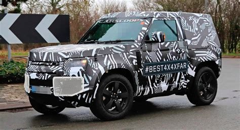New Land Rover Defender 2020 by 2020 Land Rover Defender 90 With Three Doors And