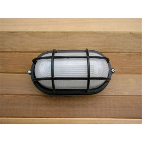 Sauna Light Fixtures Flush Mount Marine Style Sauna Light Black