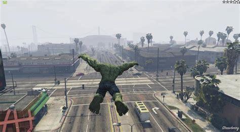 mod gta 5 ps3 hulk gta v meets the incredible hulk twice gta 5 cheats