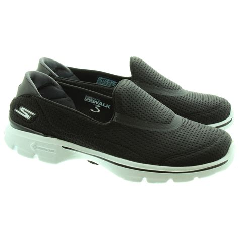 Skecher Unfold 2 skechers 14047 unfold trainers in black white in black multi