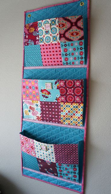 pattern for fabric organizer this wall organizer new wip phew as in new projects