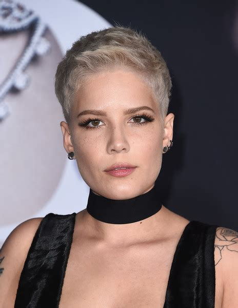 female singer with short hair halsey boy cut short hairstyles lookbook stylebistro
