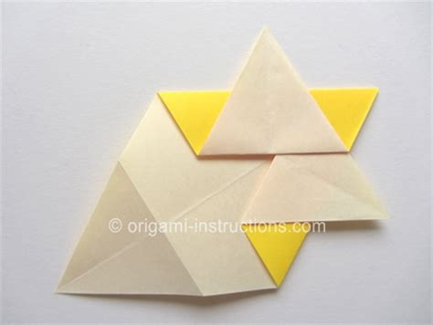 How To Make An Origami Of David - origami folding how to fold an