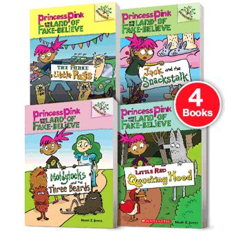 believe books branches princess pink and the land of believe pack