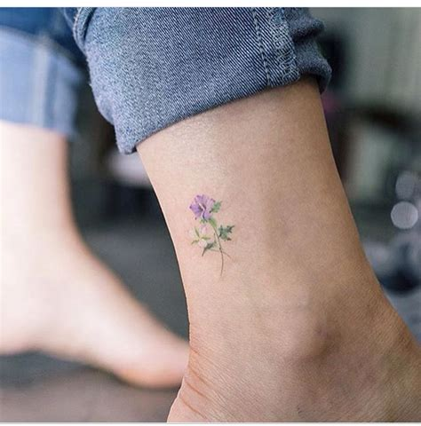 tattoo tiny flower love how tiny and delicate this is victoria s