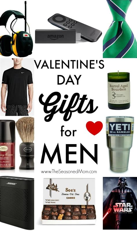 valentines gift ideas for guys s day gifts for the seasoned