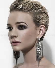 womens swept back hair styles short hairstyles slicked back hairstyle for women