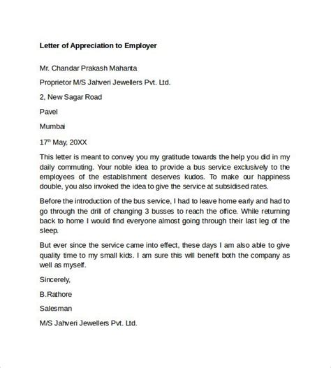 appreciation letter upon resignation best 25 appreciation letter to ideas on