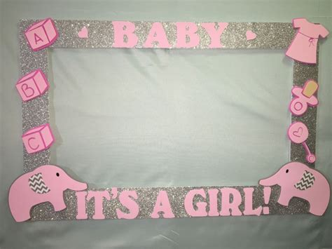 Baby Shower Picture Frame Ideas by Photo Booth Frame To Take Pictures Elephant Birthday Baby