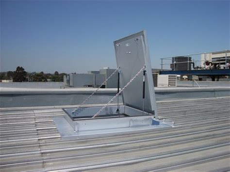 Ceiling Access Hatch by Roof Access Hatches Fall Protection Mansfield