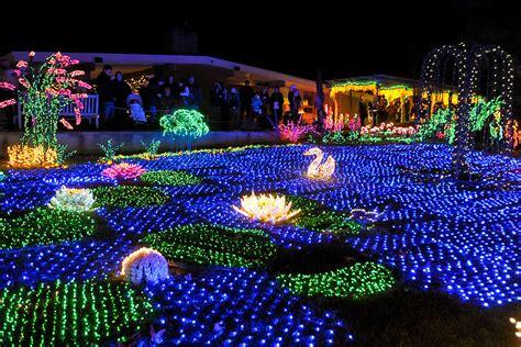 botanical gardens christmas lights holiday lights botanical gardens