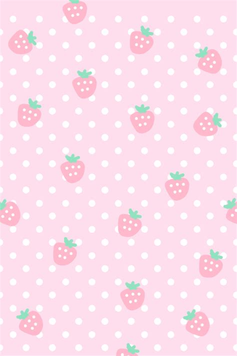 cute pastel pattern background cute berry pattern kawaii pinterest berry wallpaper