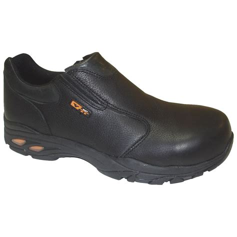 s composite toe shoes s thorogood 174 sd slip on composite toe shoes black