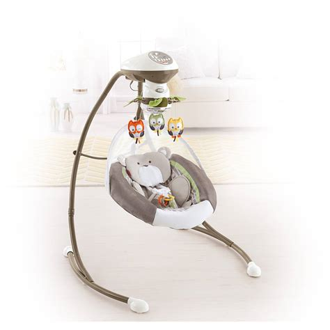 Cradle Swing Fisher Price by Fisher Price My Snugabear Cradle N Swing Ebay