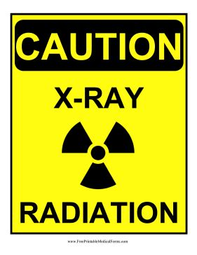Printable X Ray Radiation Sign | printable radiation warning symbol driverlayer search engine