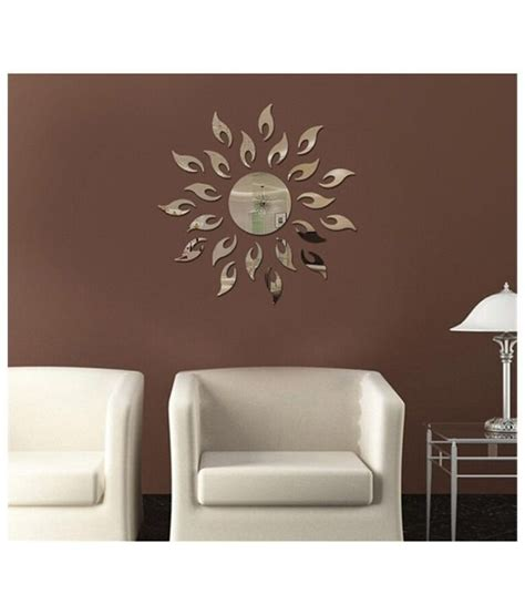 elite home decor elite collection 3d acrylic home decor wall sticker sun
