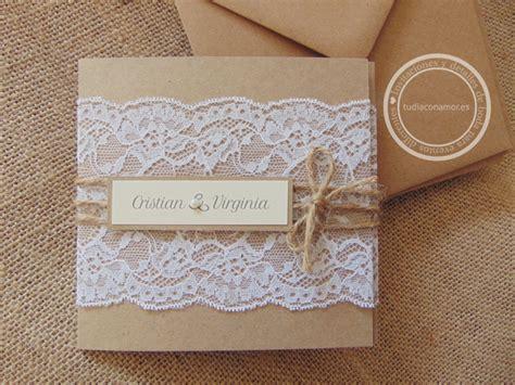 invitaciones para preescolar clausura con reciclado invitaciones de boda hechas a mano con blonda en puntilla