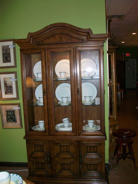 great china cabinet with display light big furniture