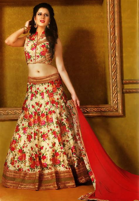 Simple Indian Bridal Lehengas