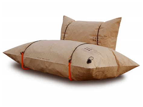 blow up settee blow up couch doubles as a flotation device gearfuse